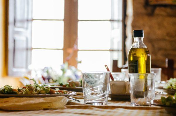 オイル 食卓