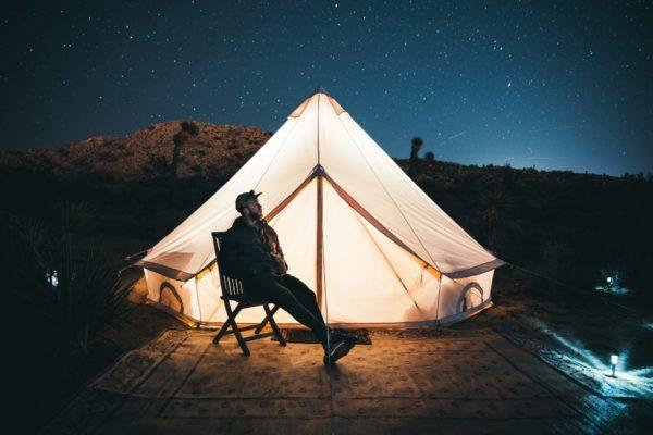 夜のキャンプ時間
