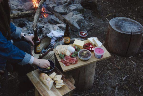 キャンプのご飯