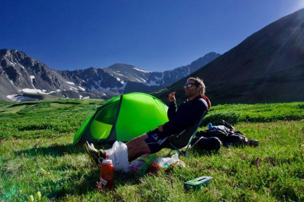 キャンプ 快適な時間