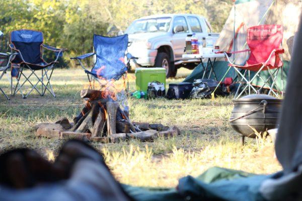 キャンプ くつろげる風景