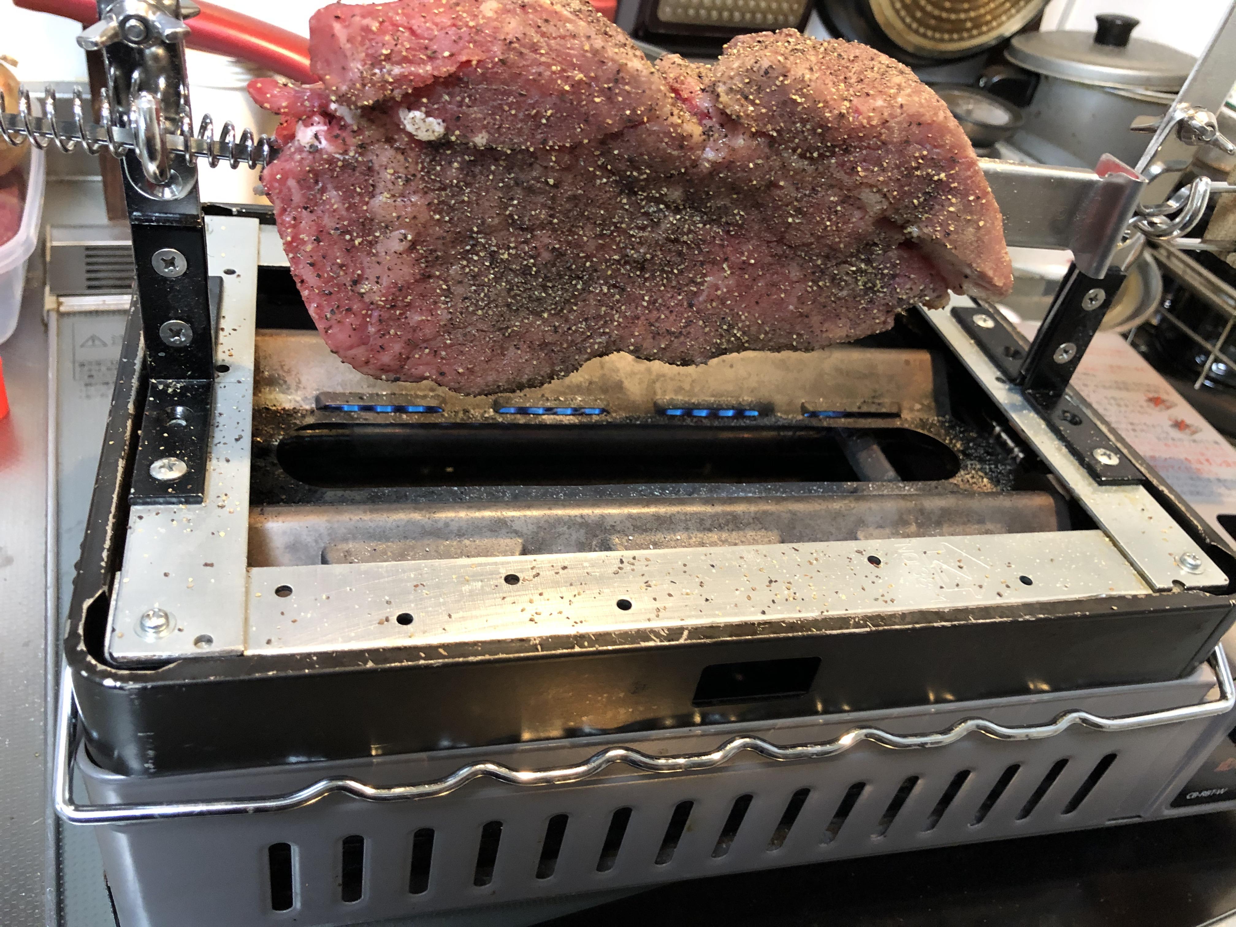 自家製肉焼き台