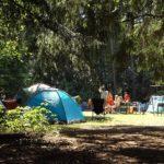 キャンプ場で過ごす時間