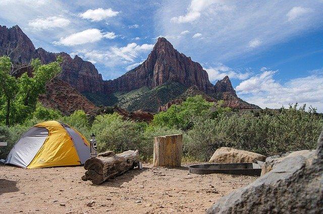 キャンプ きれいな空
