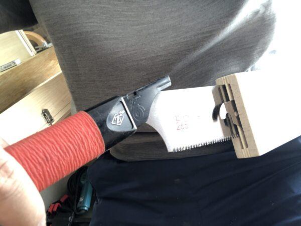 ノコギリ刃の収納ケース