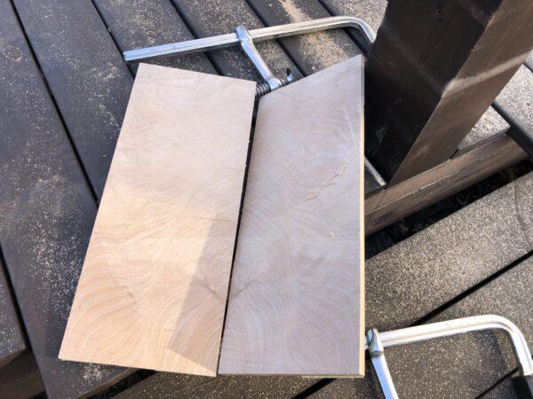切断した板