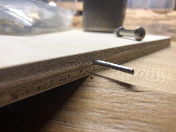 テーブルの天板加工 2