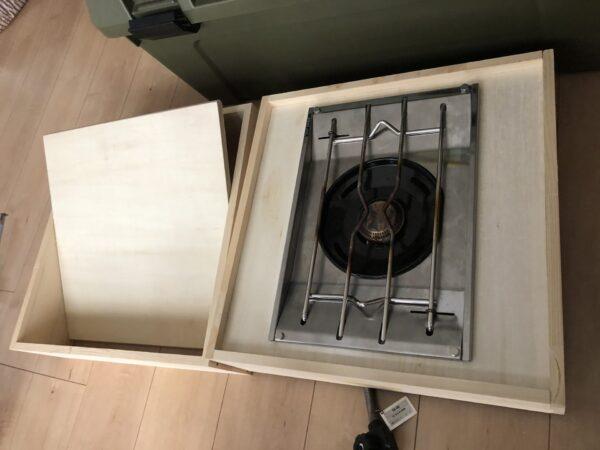テーブルの天板加工 3