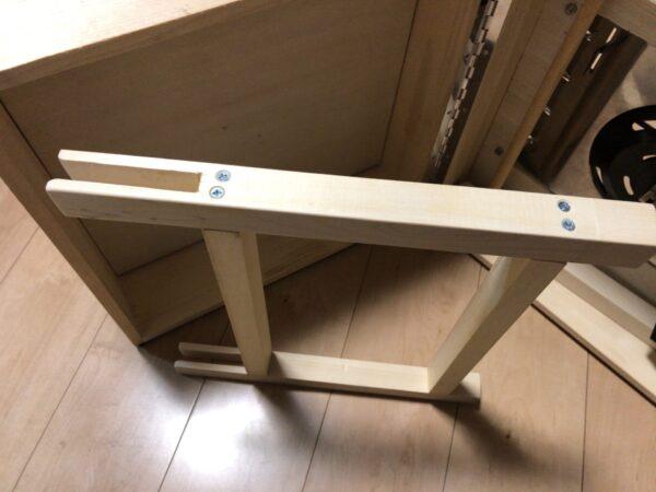 テーブルの脚を加工 2