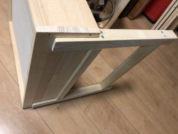 テーブルの脚を加工 3