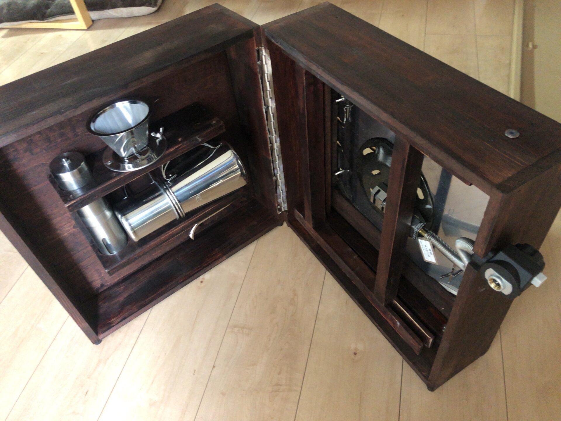 出来上がったコーヒーテーブル 2