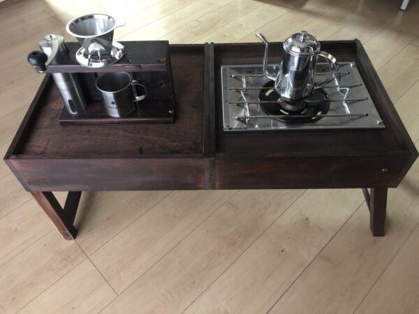 出来上がったコーヒーテーブル 1