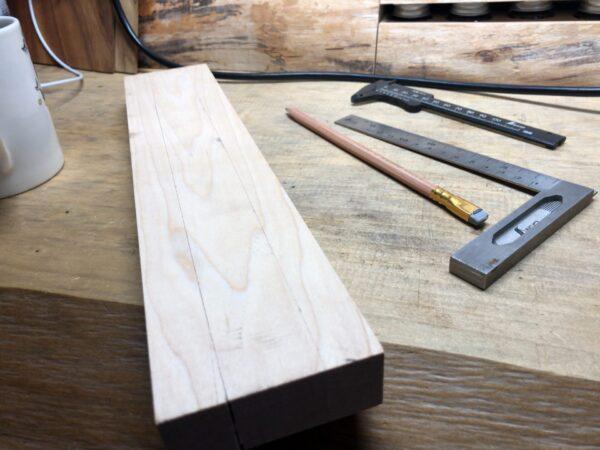 カーリーメープルの木材