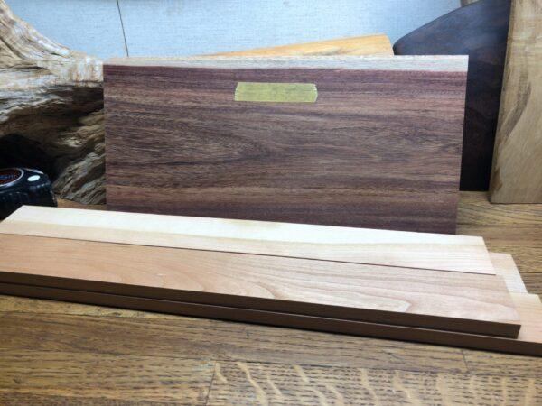 スパイスボックスの面材と枠材