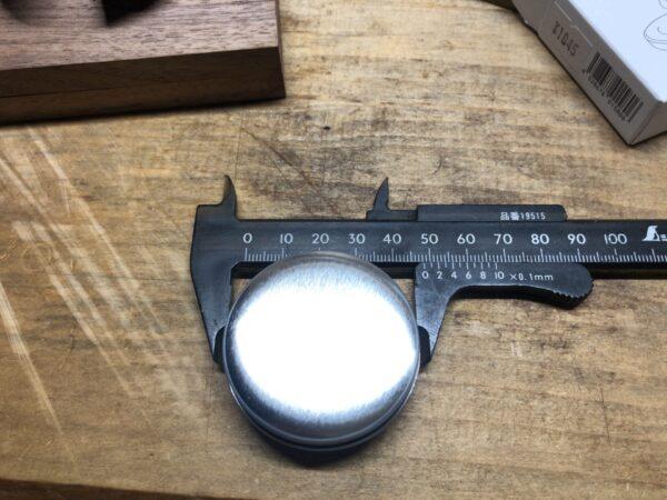 @アロマのアロマストーンのサイズを測る